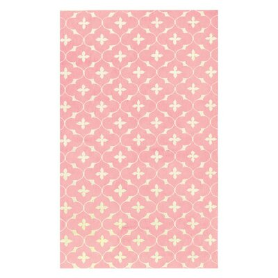 <strong>The Rug Market</strong> Coco Pink/White Kids Rug
