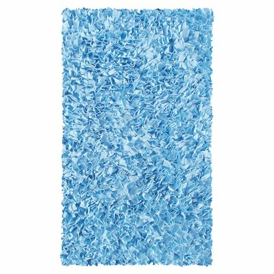 The Rug Market Shaggy Raggy Blue Rug