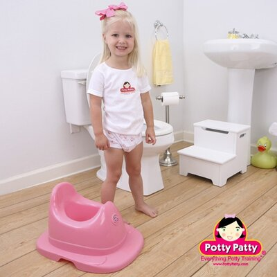 Mom Innovations The Potty Patty Musical Potty Chair in Pink