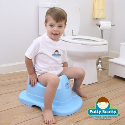 Mom Innovations The Potty Scotty Musical Potty Chair in Blue