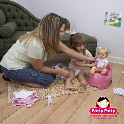 Mom Innovations Potty Training in One Day - The Complete System for Girls with DVD