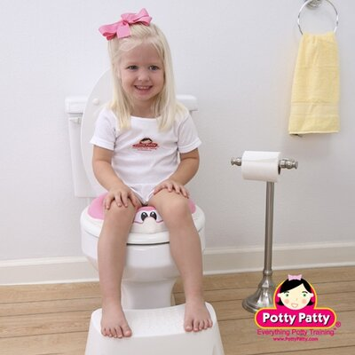 Mom Innovations The Potty Patty Potty Seat I in Pink