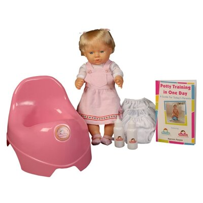 Mom Innovations Potty Training in One Day - The Basic System for Girls