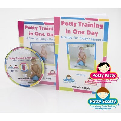 Mom Innovations Potty Training in One Day - Book and DVD Set