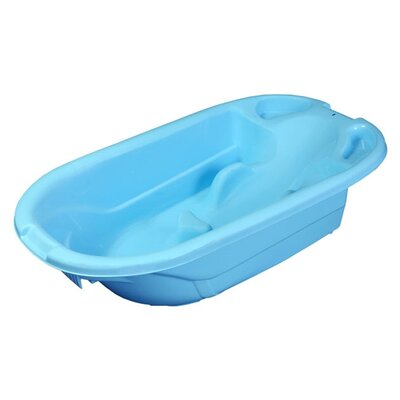 Mom Innovations The Potty Scotty 2 in 1 Bath Tub in Blue