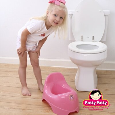Mom Innovations The Potty Patty Potty Chair in Pink