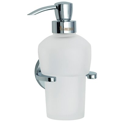 Smedbo Loft Holder with Soap Dispenser