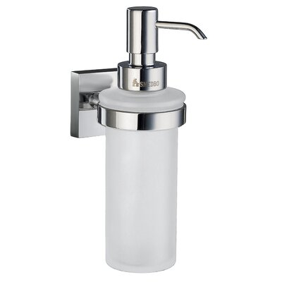 House Holder with Glass Soap Dispenser