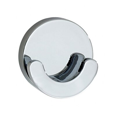 Smedbo Loft Crescent-Shaped Double Wall Mounted Towel Hook
