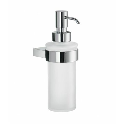 Air Frosted Glass Soap Dispenser