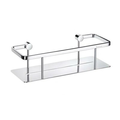 Smedbo Pool Soap Basket in Polished Chrome