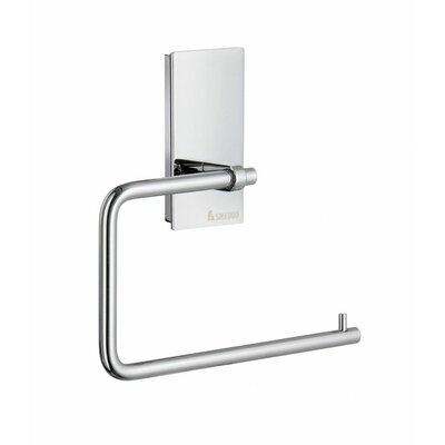 Smedbo Pool Toilet Paper Holder in Polished Chrome