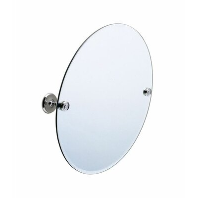 "Smedbo Villa 22.8"" x 22.8"" Oval Bathroom Mirror"