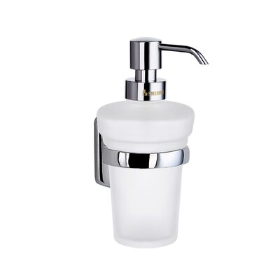 Smedbo Cabin Wall Mount Soap Dispenser