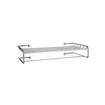 "Smedbo Sideline 20"" Towel Shelf with Towel Bar"