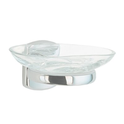 Smedbo Cabin Holder with Glass Soap Dish