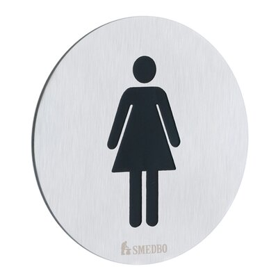Smedbo Xtra Restroom Sign Lady