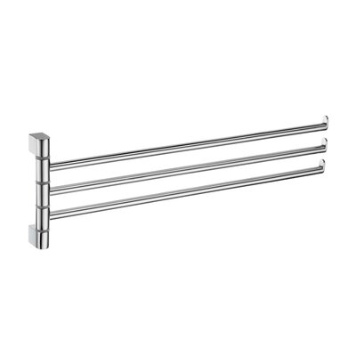 "Smedbo Spa 5"" Wall Mounted Swing Arm Towel Rail"