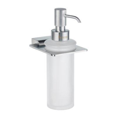 Smedbo Spa Holder with Glass Soap Dispenser