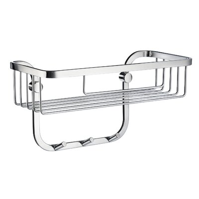 Smedbo PC Soap Basket with 3 Hooks