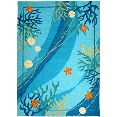 Homefires Underwater Coral and Starfish Rug