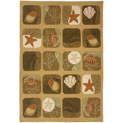 Homefires Shell Tile Rug