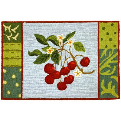 Homefires Cherry With Blossoms Rug