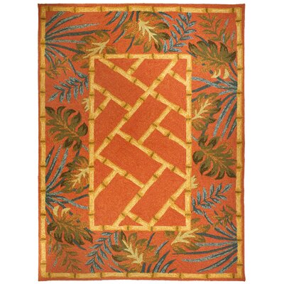 Homefires Tropical Palms & Bamboo - Terracotta