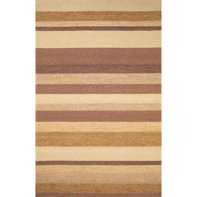 Trans Ocean Ravella Stripe Sand Indoor / Outdoor Rug