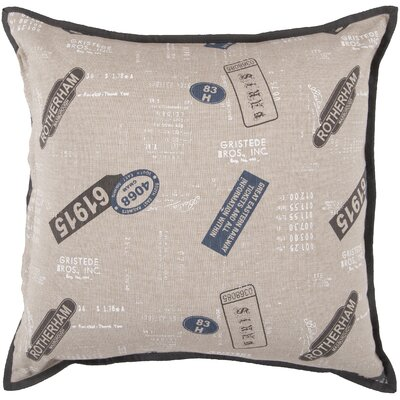Striking Stamp Pillow