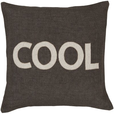 "Surya Charmingly ""Cool"" Pillow"