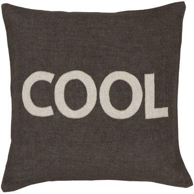 "Surya Charmingly ""Cool"" Pillow"
