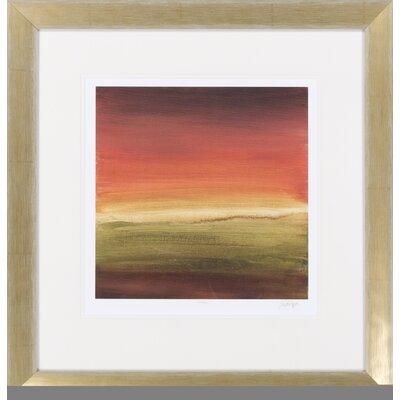 Surya Abstract Horizon I by Vision Studio Framed Graphic Art