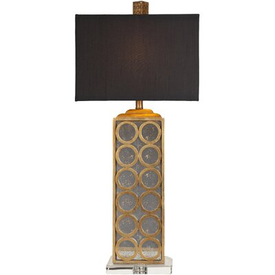 "Surya Madonna 33"" H Table Lamp with Rectangle Shade"