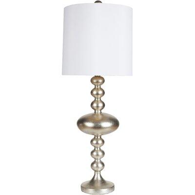 "Surya Mahesh 35"" H Table Lamp with Drum Shade"