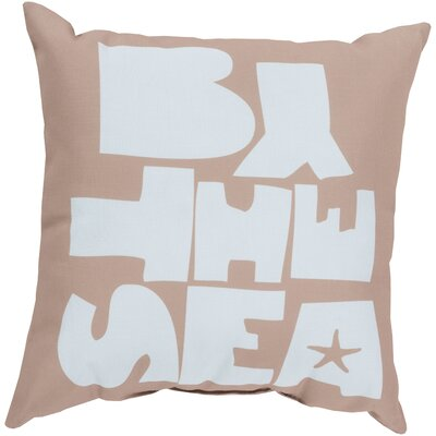 "Surya Be ""By the Sea"" Pillow"