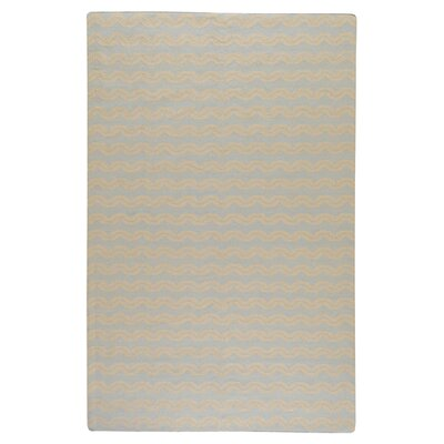 <strong>Surya</strong> Frontier Pale Blue/Beige Striped Rug