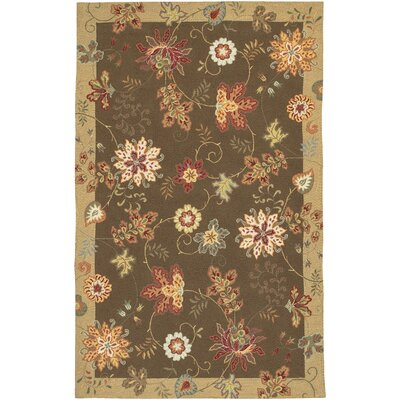 Flor Coffee Scatter Rug