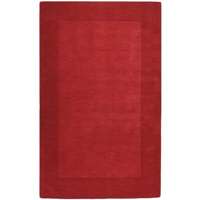 Surya Mystique Red Border Rug