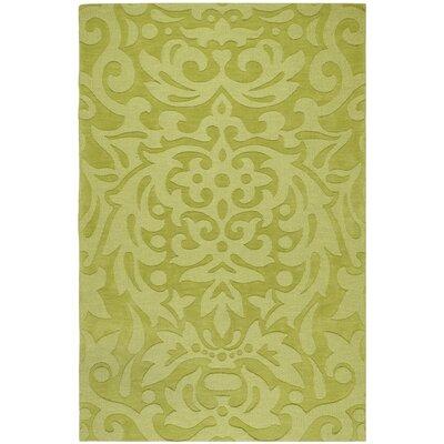 Surya Mystique Lime Green Floral Rug