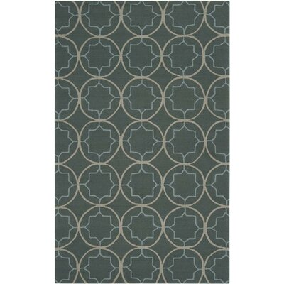 Surya Rain Stormy Sea Circle Indoor/Outdoor Rug