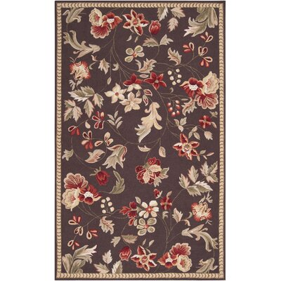 Surya Rug Flor Dark Chocolate Rug