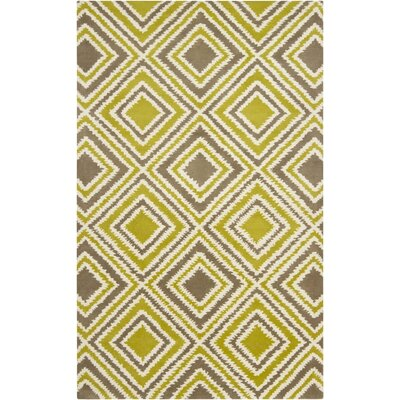 Surya Naya Green Yellow Rug