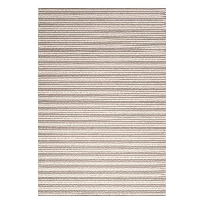Ravena Peach Cream/Cobble Stone Striped Rug