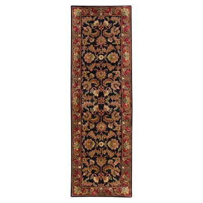 <strong>Surya</strong> Ancient Treasures Black/Red Rug
