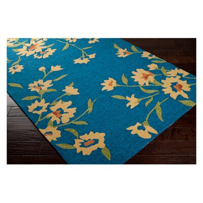 Surya Cannes Peacock Blue Rug