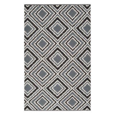 <strong>Surya</strong> Juniper Pewter/Jet Black Rug