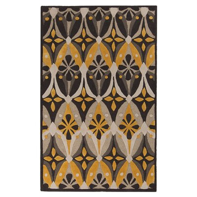 Surya Mamba Feather Gray/Old Gold Rug