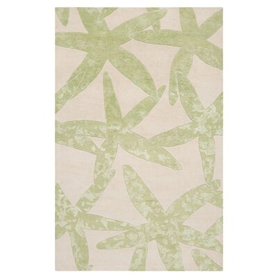 Escape White/Lettuce Leaf Rug