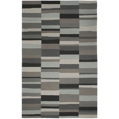 Kevin O'Brien Charcoal Stripe Rug